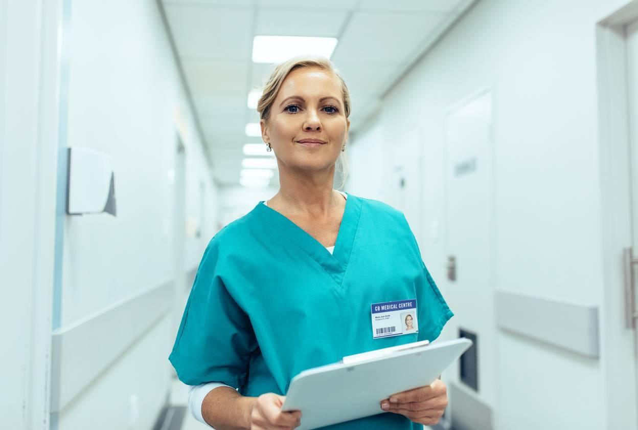tenue infirmière