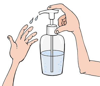 lavage main