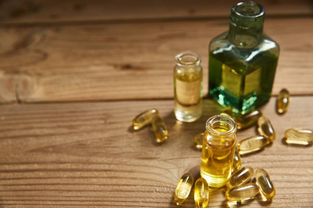 huile de foie de morue de pharmacie